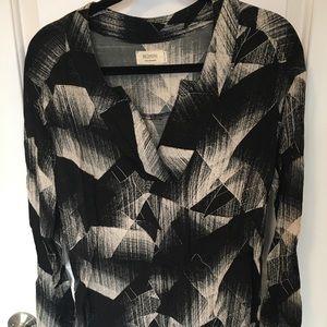 Geometric print tunic